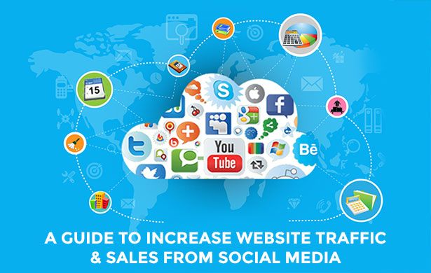 Free eBook: A Guide to Increase Website Traffic & Sales from Social Media
