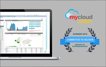 SoftwareSuggest Awards mycloud Hospitality for Hotel Software Excellence