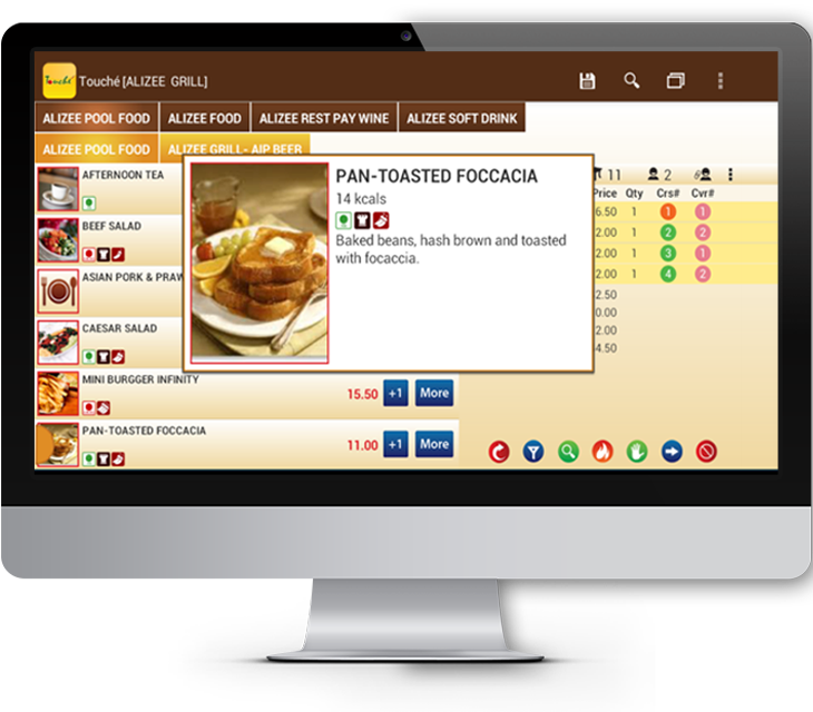 E-POS | F&B Software | Food and Beverage Point of Sale System