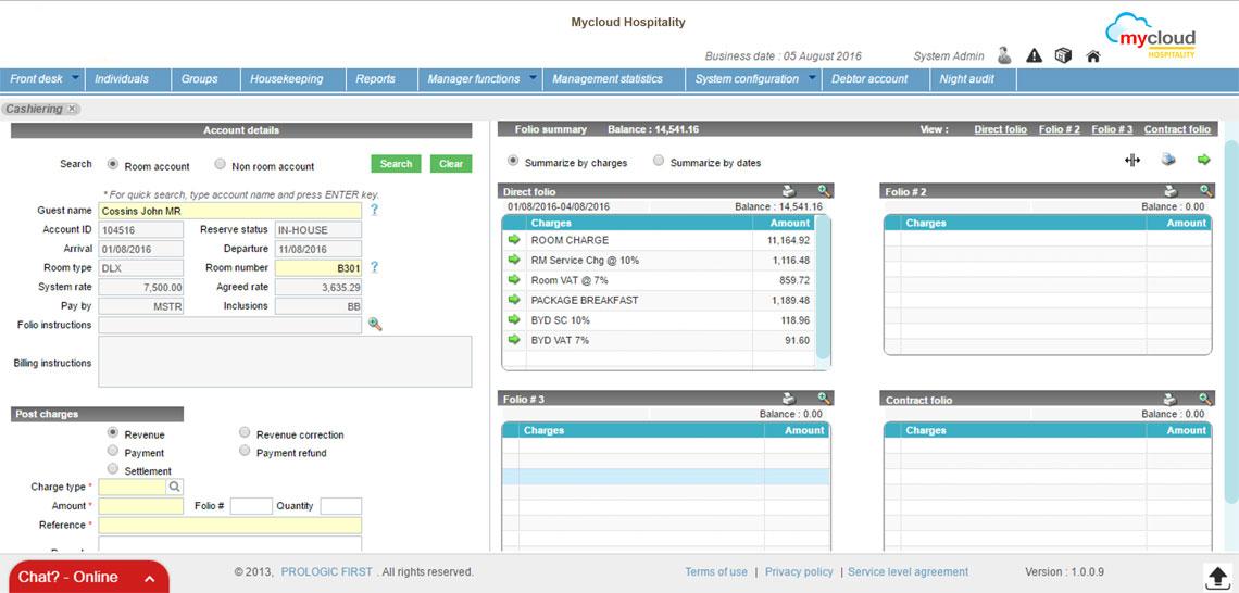 Cloud Based Online Hotel Management Software & Hotel PMS